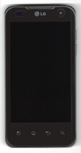 LG Optimus 2X front view