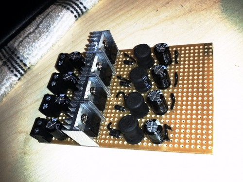 4x LM2575 - Final design