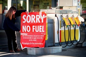 Fuel Strikes - No Fuel