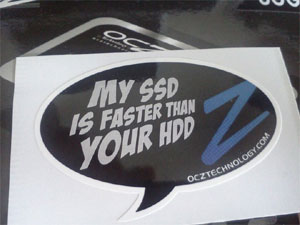 My SSD is faster than your HDD!